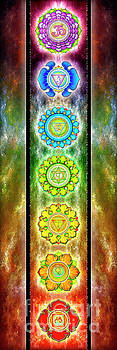 The Seven Chakras - Series 3 by Dirk Czarnota
