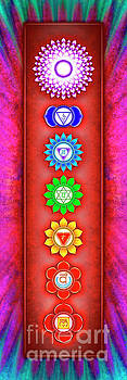 The Seven Chakras - Series 6 Artwork 2-1 by Dirk Czarnota