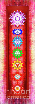 The Seven Chakras - Series 6 Artwork 3 by Dirk Czarnota