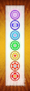 The Seven Chakras - Series 6 Golden Yellow by Dirk Czarnota