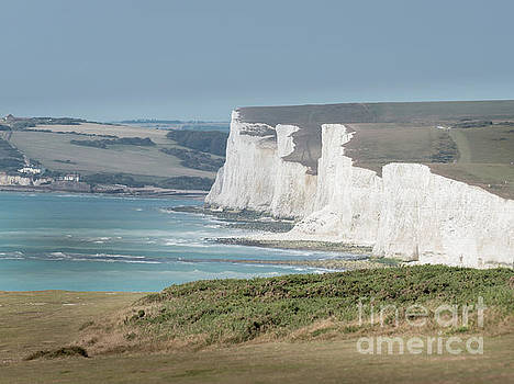 The Seven Sisters White Cliffs by Perry Rodriguez