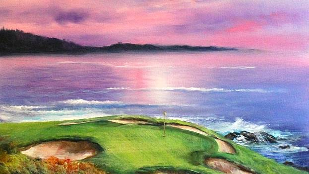 The Seventh at Pebble by Sally Seago