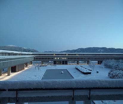 The SFU polar research station by Jordan Barnes