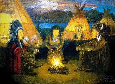 The Shamans Council by Larry Lamb