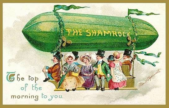 Peter Ogden - The Shamrock Top of the Morning to You St Patricks Day Zeppelin
