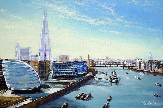 The Shard London by Mark Woollacott