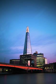 The Shard over London Bridge by Matt Perry