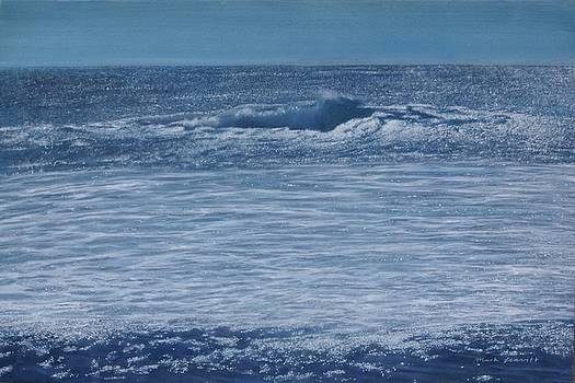 The Shimmering Sea    July by Mark  Leavitt