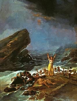 The Shipwreck 1794 by Goya Francisco