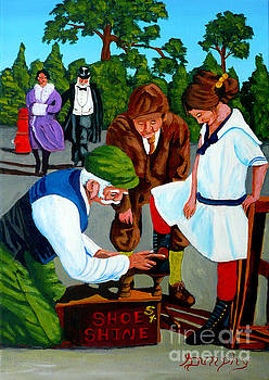 The Shoe Shine Man by Anthony Dunphy