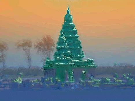Usha Shantharam - The Shore Temple