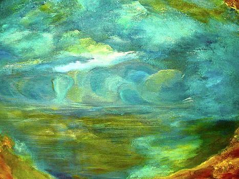 The Shoreline by Jeannine Sandoval