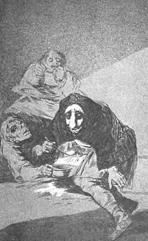 The Shy Man 1799 by Goya Francisco
