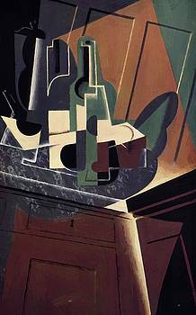 The Sideboard 1917 by Gris Juan