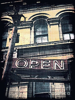 The Sign Says Open by Phil Perkins