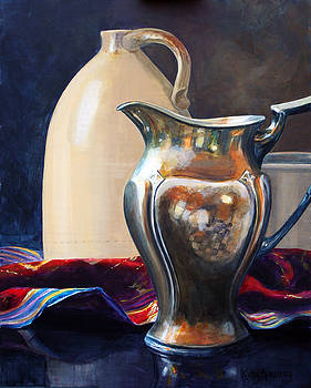The Silver Pitcher by Kathy Armstrong