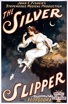 The Silver Slipper, performing arts poster, 1902 by Vintage Printery