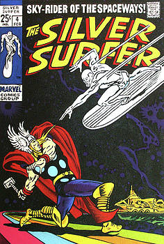 The Silver Surfer #4 by Steven Benton