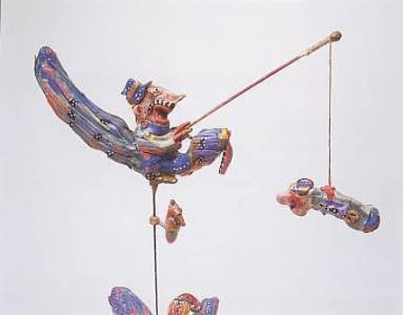 The Singer Husband Had An Original Way Of Fishing by Mirel Goldenberg