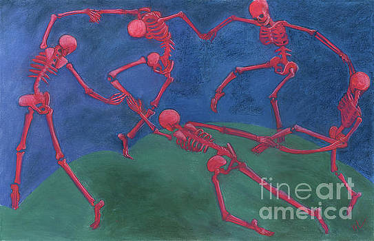 The Skelly Dance by Marie Marfia