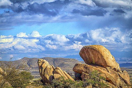 The Sky at Texas Canyon by Deb Henman