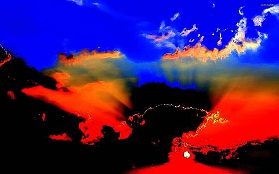 The Sky is Alive by Art Speakman