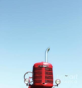 The Sky of Farmall  by Steven Digman