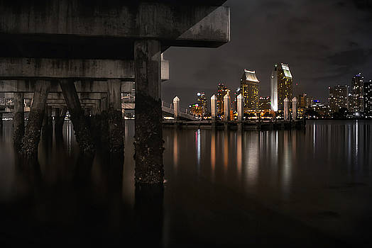The Skyline of San Diego by Sean Foster