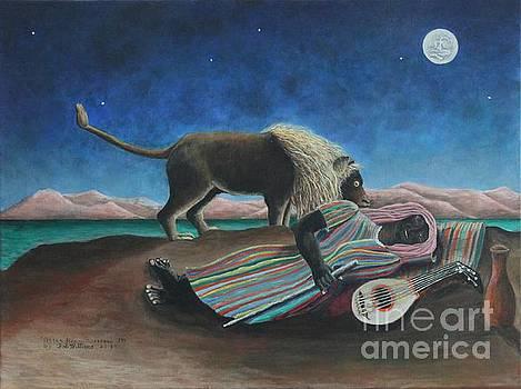 The Sleeping Gypsy  by Bob Williams