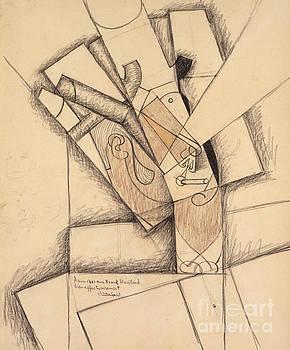 Juan Gris - The Smoker, 1913