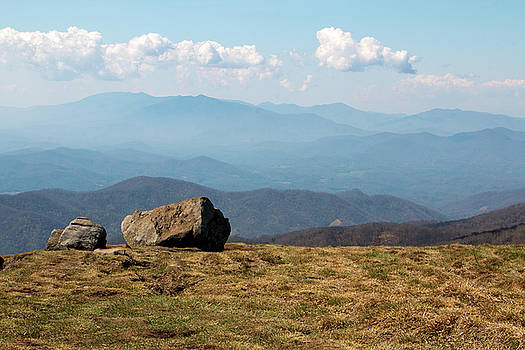 The Smokies from Roan Mountain I by Jeff Severson