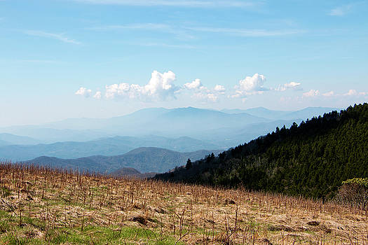 The Smokies from Roan Mountain II by Jeff Severson
