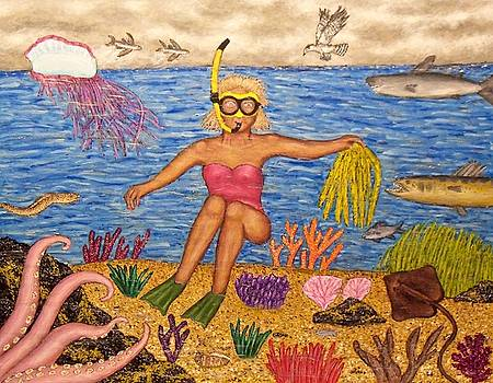The Snorkeler by Stephen Warde Anderson