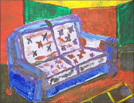 The Sofa by Jennifer Bentrim