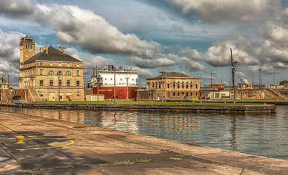 The Soo Locks by J Thomas