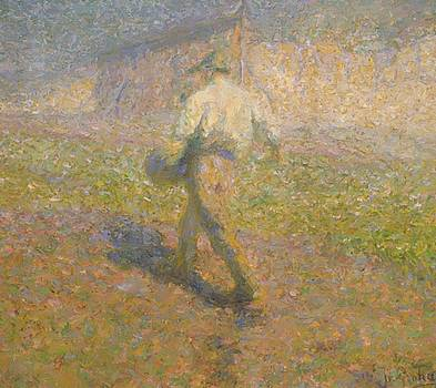 The Sower 1907 by Grohar Ivan