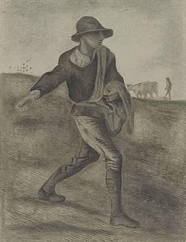 The Sower after Millet Etten, April 1881 Vincent van Gogh 1853  1890 by Artistic Panda