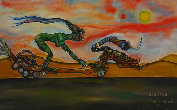 The Speed Bitch by Jaren Johnson