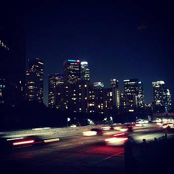 The Speed Of Lights #city #skyline by Sean Kalimi