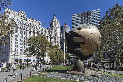 The Sphere Batterie Park NYC by Juergen Held