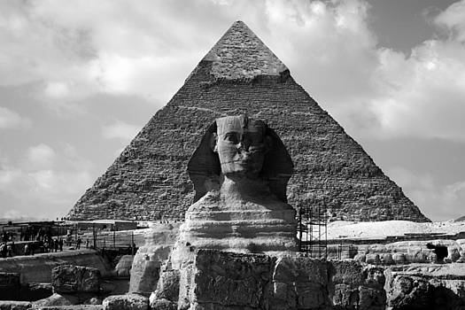 Donna Corless - The Sphynx and The Pyramid