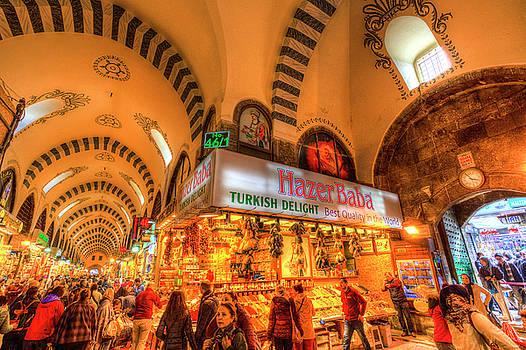 The Spice Bazaar Istanbul by David Pyatt