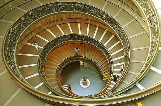 The Spiral staircase by Rumiana Nikolova
