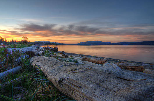 The Spit - Campbell River by Kathy Paynter