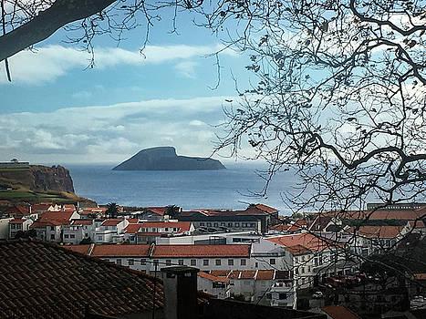 The Split Rock of Terceira by Kelly Hazel