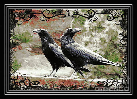 The Spooky Ravens by Tina LeCour
