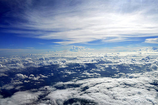 Bliss Of Art - the spread of clouds
