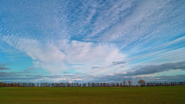 The Springtime Sky. Horytsya, 2010. by Andriy Maykovskyi