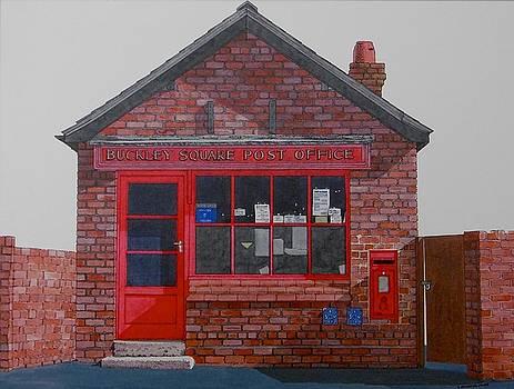 The Square Post Office in Buckley by Alwyn Dempster Jones