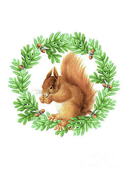 The Squirrel by Wendy Paula Patterson